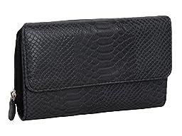 MUNDI Big Fat Wallet 333475/D178 (SNAKE BLACK)