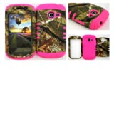 Straight Talk/Net 10 Samsung Galaxy Discover Centura R740 S730G S738C Exclusive Camo Mossy Hunter Series on Pink... by Rocker