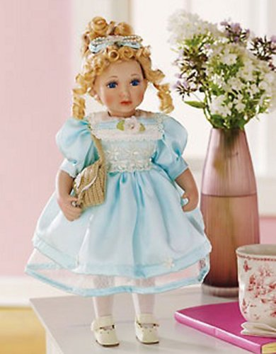 Buy Heritage Signature Series Collection Shelby Porcelain Doll 14 1/2″h
