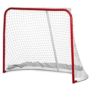 Crown Sporting Goods Heavy Duty Hockey Goal, Large by Crown Sporting Goods