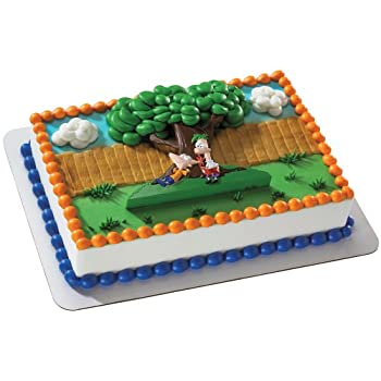 Create a Phineas and Ferb Cake with this cake decoration.