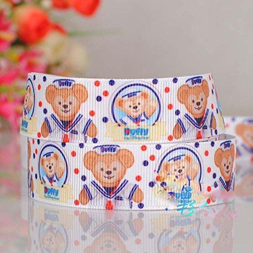 Printed Ribbon Grosgrain Ribbon 78\u201d Craft Supplies Duffy Bear