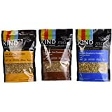 Kind Healthy Grains Clusters Variety 3 Pack (Cinnamon Oat Clusters, Oats & Honey, Vanilla Blueberry)