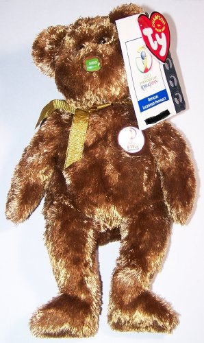 TY Beanie Baby - CHAMPION the FIFA Bear ( Saudi Arabia )