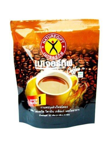 Thai Naturegift Coffee Plus Sugar Free Slimming Weight Control Instant Coffee Made In Thailand