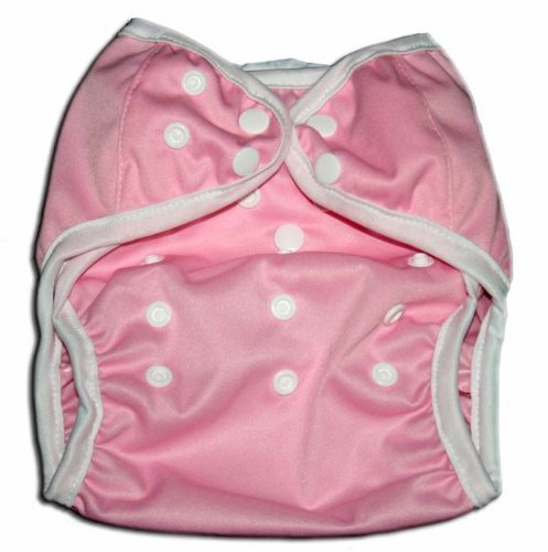 One Size Fit All- Diaper Covers for Prefolds or Regular Inserts PUL - PINK