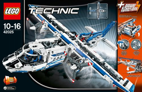 lego technic 42025 jeu de construction l 39 avion cargo your 1 source for toys and games. Black Bedroom Furniture Sets. Home Design Ideas