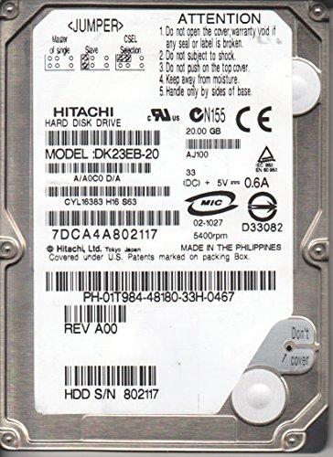 Hitachi 20GB 2.5