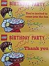 Lego Birthday Party Invitations – Pac…