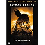 Batman Begins - �dition Collector 2 DVDpar Christian Bale
