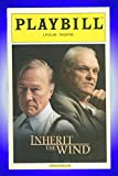 Inherit the Wind, Broadway Playbill + Jerome Lawrence, Robert E. Lee, Brian Dennehy, Christopher Plummer, Denis O'Hare, Conor Donovan, Terry Beaver