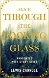 img - for Through the Looking Glass: annotated with study guild book / textbook / text book
