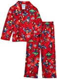 AME Sleepwear Boys 2-7 Super Squad 2 Coat Pajama