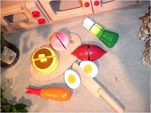 木製おもちゃのだいわ 包丁屋さん Dセット