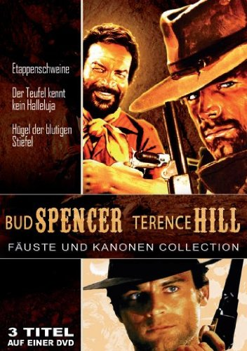 Bud Spencer und Terence Hill - Fäuste und Kanonen - Collection (Etappenschweine/Der Teufel kennt kein Halleluja/Hügel der blutigen Stiefel)
