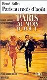 Paris au mois d'ao�t par Fallet