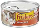 Friskies Cat Food Classic Pate, Mixed Grill, 5.5-Ounce Cans (Pack of 24)