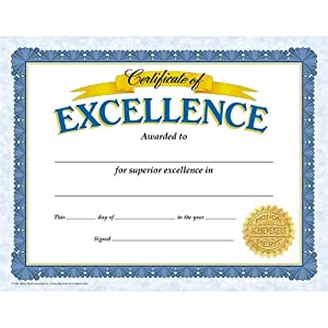 Com certificate of excellence classic certificates toys amp games