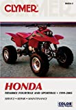 img - for Clymer Honda Trx400ex Fourtrax and Sportrax 1999-2005 (Clymer Motorcycle Repair) book / textbook / text book