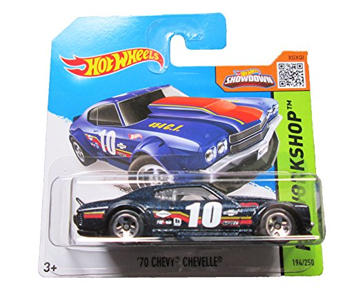 Hot Wheels - 2015 HW Workshop 194/250 - '70 Chevy Chevelle on Short Card