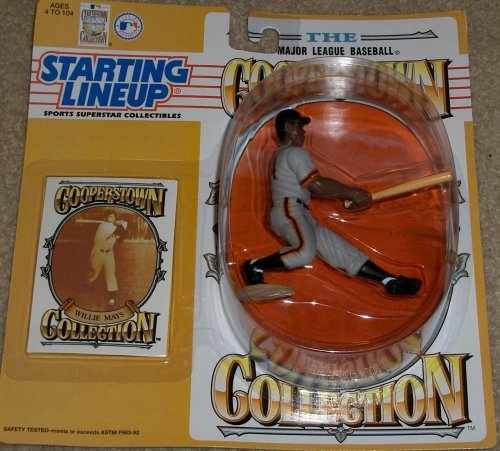 1994 Willie Mays San Francisco Giants Cooperstown Starting Lineup Figure