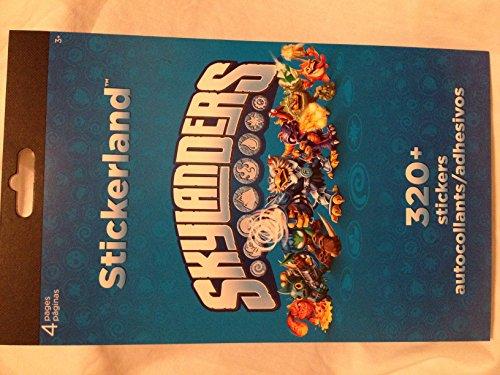 Skylanders Stickerland 320+ Stickers