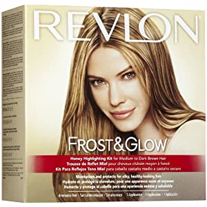 Lovely Dalliances: At Home Highlights with Revlon Frost & Glow Kit