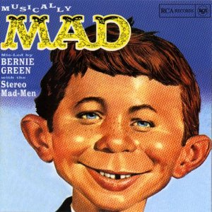 Original album cover of Musically Mad by Bernie Green