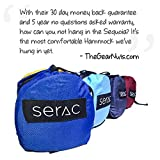 Premium-Double-Hammock-Strap-Bundle-Serac-Sequoia-XL-Wide-Camping-Hammock-with-Ripstop-Nylon-and-Quick-Hang-Suspension-System-Perfect-for-the-backpack-travel-and-camping