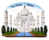 Taj Mahal Indian India 8th WonderMagnet Souvenir Thailand Handmade Design
