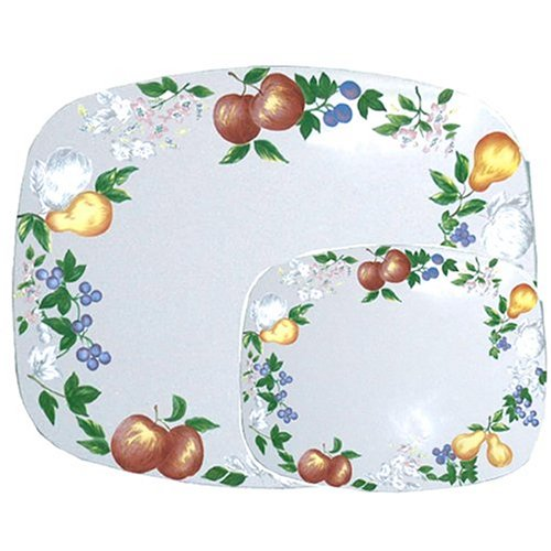 Corelle Coordinates Counter Mats, Set of 2, Chutney (Corelle Chutney Dishes compare prices)