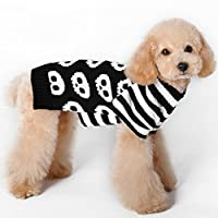 Tangpan Skull Pet Dog Sweater Apparel
