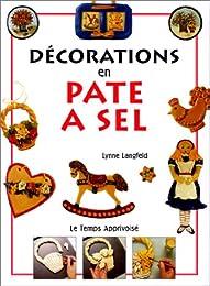 Décorations en pâte à sel