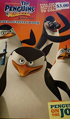 The Penguins of Madagascar Full Color Super Activity Book (Staplebound) Penguins on the Job - 1