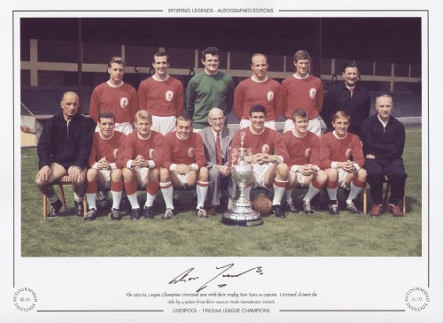 Liverpool 1963/64 League Champions – Ron Yeats Signed Limited Edition