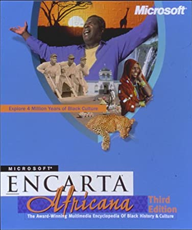 Microsoft Encarta Africana Third Edition [Old Version]