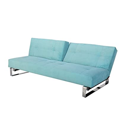 Malmo Teal Fabric Sofa Sleeper