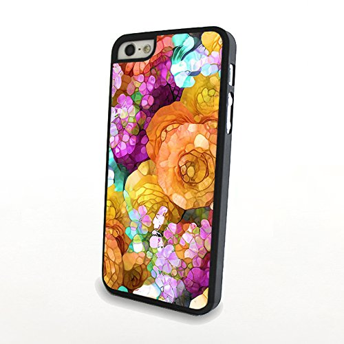 Generic Phone Accessories Matte Hard Plastic Phone Cases Blossom Jasmine Fit For Iphone 5/5S