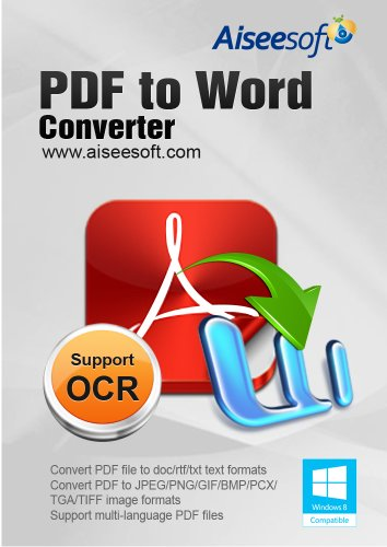 Aiseesoft PDF to Word Converter [Download] (Pdf Converter Software compare prices)