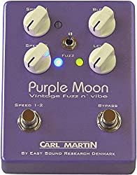 Carl Martin Purple Moon Vintage Fuzz and Vibe Stomp Box Guitar Effects Pedal by Carl Martin