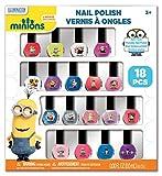 Minions Nail Polish Box, 18 Count