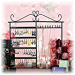 Classic Black Jewelry Hanger Stand fo...