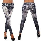 buytra Retro Denim Silm Fashion Skinny Leggings Jeans Tights Pants