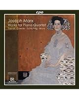 Les oeuvres pour quatuor avec piano