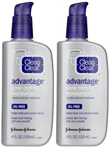 Clean and Clear Advantage Acne Control Moisturizer 4 fl oz (120 ml)