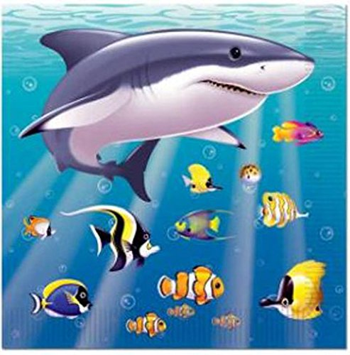 Under The Sea Beverage Napkins (2-Ply)    (16/Pkg) - 1