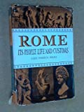 img - for Rome It's People Life and Customs book / textbook / text book