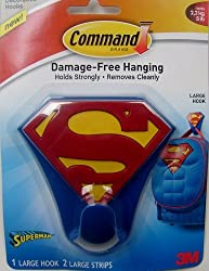 1 X 3M Command Superman Large Hook