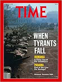 Time Magazine January 8 1990 When Tyrants Fall: Time magazine: Amazon