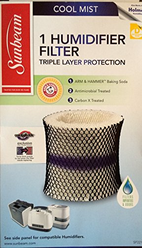 Sunbeam and Holmes Humidifier Filter SF221 (Holmes Humidifier Filter 3500 compare prices)